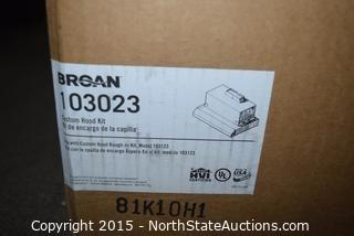 Broan Custom Hood Kit