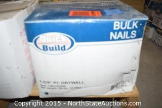 Lot of Misc Bulk Nails