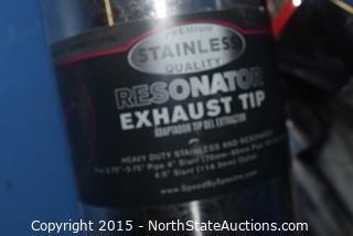 Lot of  Exhaust Tips