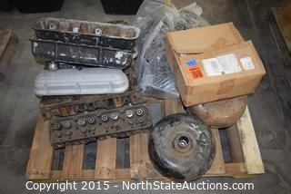 Lot of Misc Auto Parts (Heads)