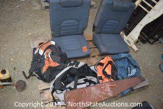 Auto Seats and Misc Bags