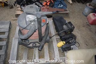 Craftsman Wet/Dry Vac and Sander