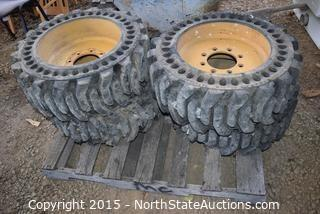 Bobcat Solid Tires