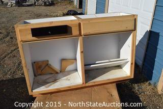 Cabinet with Cash Box