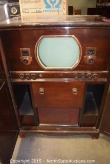 1949 Crosley TV hifi Combo