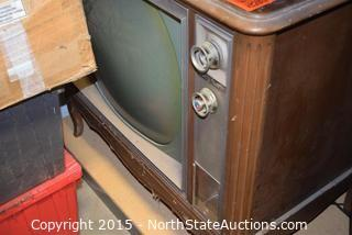 Vintage Zenith All Channel Color TV