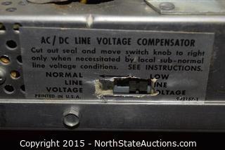 RCA Victor Short Wave Radio and Bronze TVs