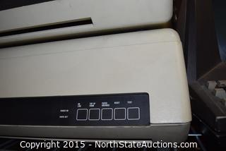 Lot of Vintage Monitors and Diablo Dot Matrix Printers