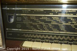 Siemens approx 1956 German Short Wave Radio