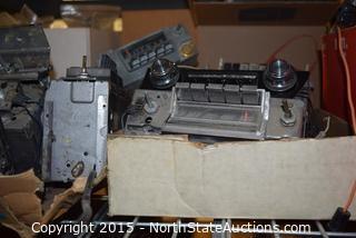 Vintage Car Radio Parts and Recievers