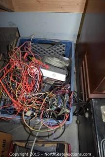 Vintage TV, Wires, Tubes and Repair Parts