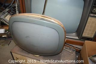 Vintage TVs, Parts, and Extra Parts