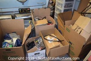 Lot of Misc Household And Electronic Parts