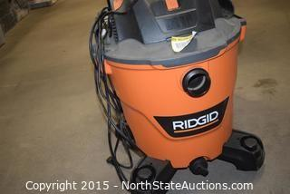 RIDGID 12 Gallon Wet and Dry Vac