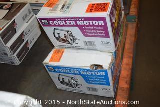 Lot of Cooler Motors