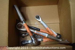 Lot of Misc Sockets and Wrenches