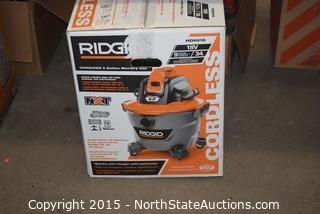 RIDGID 9-Gallon Wet and Dry Vac