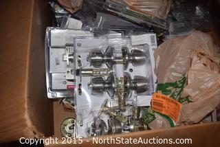 Lot of Misc Doorknobs and Hardware