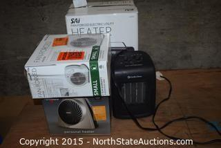 Lot of Small Room Heaters
