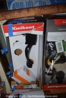 Kwikset Doorknob and Deadbolts Sets