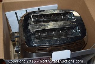 Vornado Air Purifier and Toaster