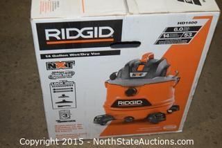RIDGID 14-Gallon Wet and Dry Vac