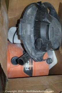 RIDGID 16-Gallon Wet and Dry Vac