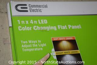 Commercial Electric Color Changing Flat Panel
