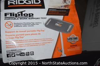 RIDGID Fliptop Portable Work Support