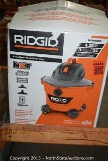 RIDGID 10 Gallon Wet and Dry Vac