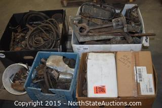Old (Lincoln?) Car Parts