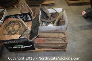 Lot of Misc Old Car Parts