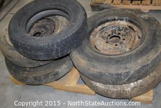 Lot of Misc Old Tires