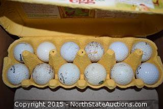 Cascade Golf Bag and Balls