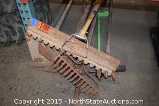 Lot of Landscaping Tools