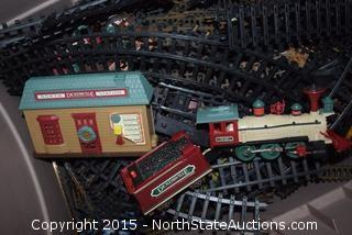Lot of Model Trains and Tracks