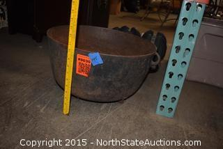 Big Cast Iron Pot