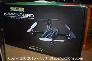 Hummingbird Micro Quadcopter and Dream Vision Pro Virtual reality headset
