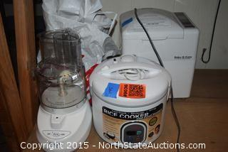 Lot of Kitchen Appliances