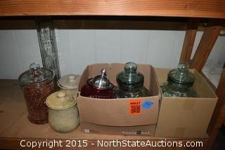 Lot of Misc Jars