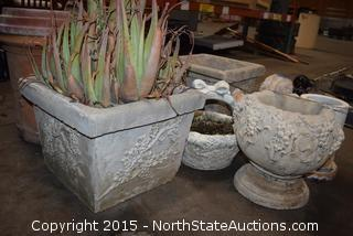 Lot of Outdoor Decor