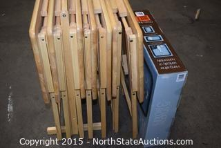 Lot of TV Trays