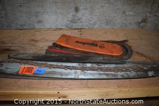 Lot of Chainsaw Bars