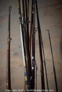 Lot of Fishing Rods