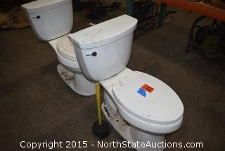 Lot of Toilets