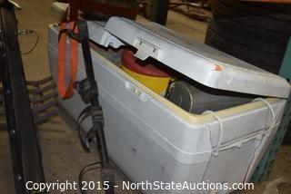 Ice Chest,  Auto Bike Rack and More