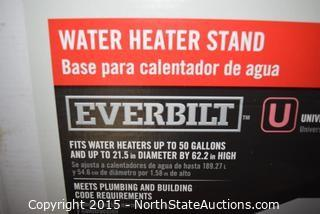 Lot of Hot Water Heater Stands