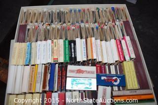 Lot of Vintage Match Books