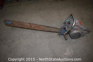 Vintage Mall Tool Chainsaw