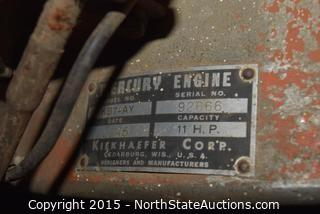 vintage Mercury Chainsaw